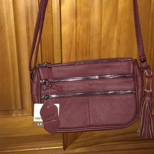 Handbags - New with tag leather crossbody